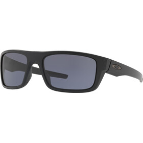 Oakley Drop Point Bril, matte black/grey